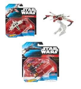 Hotwheels - Star Wars  - hwmvCGW52~12 : Star Wars, Starships assortment of 12. Including finger flying fun & display stand.
