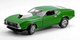SunStar - Ford  - sun3627 : 1971 Ford Mustang Pro Stock Drag Car, grabber green