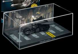 Magazine Models - Batman  - magBAT-11 : 1/43 Batman Batmobile *the Dark Knight Batpod* with riding Batman figure