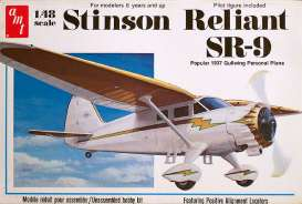 AMT -   - amts905 : 1/48 Stinson Reliant Airplane, plastic modelkit