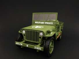 Triple9 Collection - Jeep Willys - T9-1800142 : 1944 Jeep Willys *Militairy Police*, green