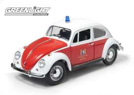 GreenLight - Volkswagen  - gl12854*1 : 1967 Volkswagen Beetle *Zurich* Switzerland Fire Department