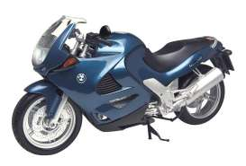 Motor Max - BMW  - mmax76251b*4 : BMW K1200RS Motorcycle, blue
