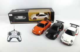 Rastar - Porsche  - rastar39900o : 1/24 Porsche GT3 RS. Including back and forward, left and right. Age Grade 3+. Needs 3x AA and 2x AA Battery (not Included).