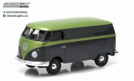 GreenLight - Volkswagen  - gl96140E : Volkswagen Panel Van , green
