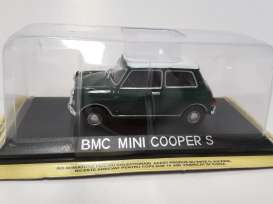 Magazine Models - Mini  - maglcBMC : BMC Mini Cooper *Legendary cars* green