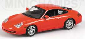 Minichamps - Porsche  - mc400061024^1*1 : 2001 Porsche 911 Coupe, red