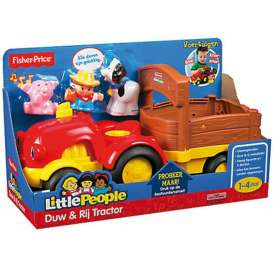 Mattel Little People - Baby Articles  Mattel Fisher-Price - MatBBC05 : Fisher Price Little People Tractor