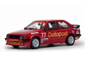 SunStar - Ford  - sun4964*1 : 1984 Ford Escort 1600i #77 *Datapost*, red