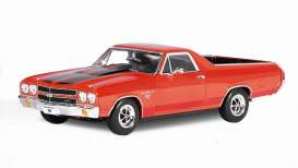 Welly - Chevrolet  - welly12543r*3 : 1970 Chevrolet El Camino, red