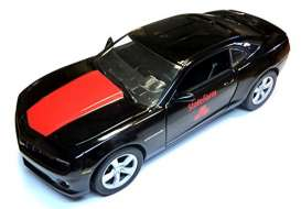 GreenLight - Chevrolet  - glcamaroBK*1 : 2013 Chevrolet Camaro SS *State Farm*, black/red