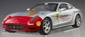 Hotwheels Elite - Ferrari  - hwmvL7129*1 : Ferrari 612 Scaglietti Tour de China 2005 *Elite Touring Serie*, silver/red