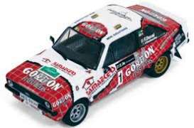 IXO Models - Ford  - ixrac246 : 2014 Ford Escort RS MKII #1 winner Legend Boucles de Spa Duval/Bordeaud'hui, red/white