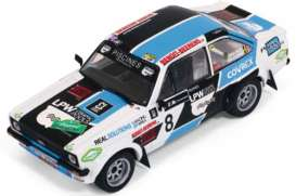 IXO Models - Ford  - ixrac247 : 2014 Ford Escort RS MKII #8 Legend Boucles de Spa Snijers/Eggermont, blue/white