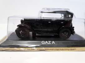 Magazine Models - GAZ  - maglcGazA : Gaz A *Legendary cars* black