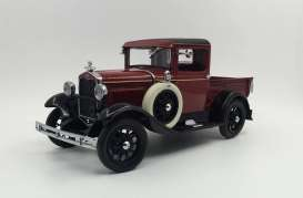 SunStar - Ford  - sun6111 : 1931 Ford Pick-up, rubelite red