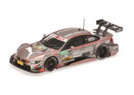 Minichamps - BMW  - mc410152431 : 2015 BMW M4 (F82) BMW Team RBM DTM Tom Blomqvist, grey