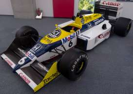 Minichamps - Williams Honda - mc117870006 : 1987 Williams Honda FW11B #6 Nelson Piquet World Champion, white/blue/yellow