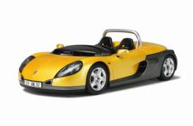 OttOmobile Miniatures - Renault  - otto161 : Renault Spider (resin series), sport yellow/grey