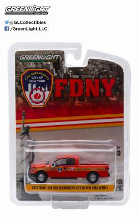 GreenLight - Ford  - gl29833 : 2015 Ford F-150 FDNY (Fire Department New York)