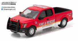 GreenLight - Ford  - gl29839 : 2015 Ford F-150 Fire & Rescue Special Service Vehicle
