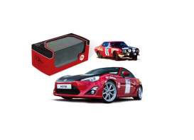 IXO Models - Toyota  - ixmdcs05ty : 2015 Toyota GT86 *Ove Anderssons Celica 1600gt Historic colour schemes* Goodwood Festival of Speed