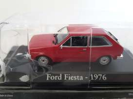 Magazine Models - Ford  - magRBAfiesta : 1976 Ford Fiesta, red