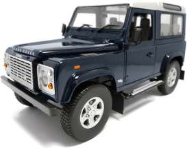 Universal Hobbies - Land Rover  - UH3888 : 1/18 Land Rover Defender 90 TDi, baltic blue (dark blue).