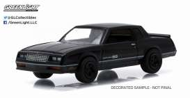 GreenLight - Chevrolet  - gl27790D : 1984 Chevrolet Monte Carlo SS *Black Bandit Series 13*, black