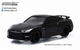 GreenLight - Nissan  - gl27790E : 2015 Nissan GT-R (R35 *Black Bandit Series 13*, black