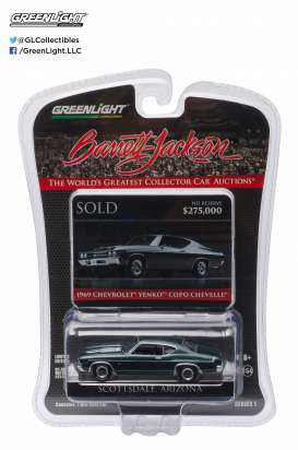 GreenLight - Chevrolet  - gl27830A : 1969 Yenko Chevelle SS Barret Jackson *Scottsdale* Edition series 1