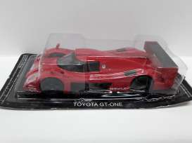 Magazine Models - Toyota  - magSCtoyotagt : Toyota GT One, red