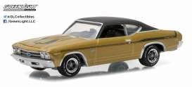 GreenLight - Chevrolet  - gl13150B : 1969 Chevrolet Yenko Copo Chevelle *Muscle Series 15*, champagne gold iridescent