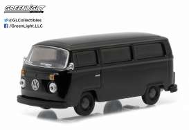 GreenLight - Volkswagen  - gl27840C : 1978 Volkswagen T2 bus *Black Bandit Series 14*, black