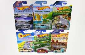 Hotwheels - Assortment/ Mix  - hwmvCBJ03-998E~12 : *Road Trippin* assortment 998E, mix of 12