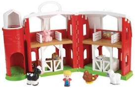 Mattel Little People - Mattel Fisher-Price Kids - MatCHJ51 : Little People Big Farm Playset  including animals and figures.