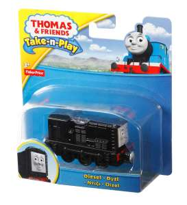 Mattel Thomas and Friends - Thomas and Friends Kids - MatCBL82 : Thomas and Friends *Take & Play* Diesel