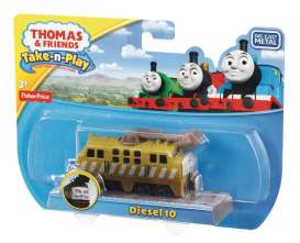 Mattel Thomas and Friends - Thomas and Friends Kids - MatCBL87 : Thomas and Friends *Take & Play* Diesel 10