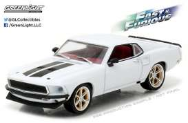 GreenLight - Ford  - gl86236 : 1969 Ford Mustang Custom *Anvil Halo*, Fast & Furious 6 (2013)