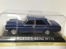 Magazine Models - Mercedes  - maglcMBw115 : Mercedes-Benz 220 W115 *Legendary cars* blue