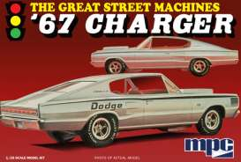 "MPC - Dodge  - mpc829 : 1967 Charger ""Great Street Machines"", plastic modelkit"