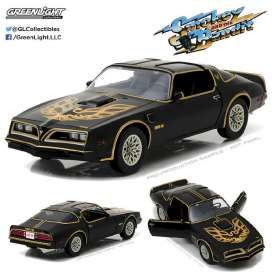 GreenLight - Pontiac  - gl19025 : 1977 Pontiac Trans Am *1977 Smokey and the Bandit I*, black/gold. *Artisan Collection*