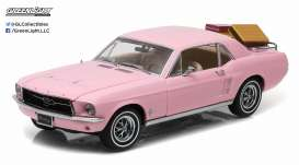 GreenLight - Ford  - gl12966 : 1967 Ford Mustang Coupe *Playboy Pink Mustang*.