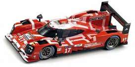 Spark - Porsche  - spa18S185 : 2015 Porsche 919 Hybrid #17 2nd LMP1 Bernhard/Webber/Hartley, red