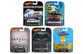 Hotwheels - Assortment/ Mix  - hwmvDMC55A~10 : 1/64 Retro Entertainment Assortment 956A. Mix box of 10pcs.