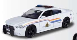 Motor Max - Dodge  - mmax76945 : 2011 Dodge Charger Enforcer RCMP, white