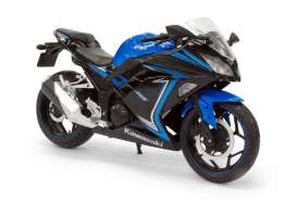 Joy City - Kawasaki  - joy605308 : 2015 Kawasaki Ninja 300, blue/black