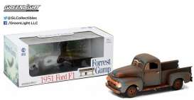 GreenLight - Ford  - gl12968 : 1951 Ford F1 pick-up truck *Forrest Gump*, rusty brown
