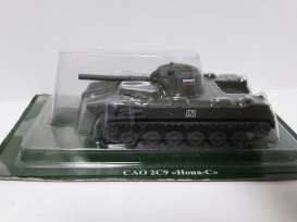 Magazine Models - Russian Tanks  - magTA-59 : Russian Tank Series SAO 2S9 Nona-S, green