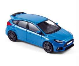 Norev - Ford  - nor270544 : 2016 Ford Focus RS, blue